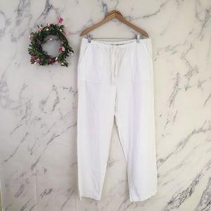LL Bean 100% Cotton Drawstring Pants